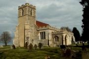 All Saints church, Acton, Suffolk