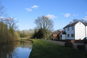 Worcester and Birmingham Canal by Mayfield Farm