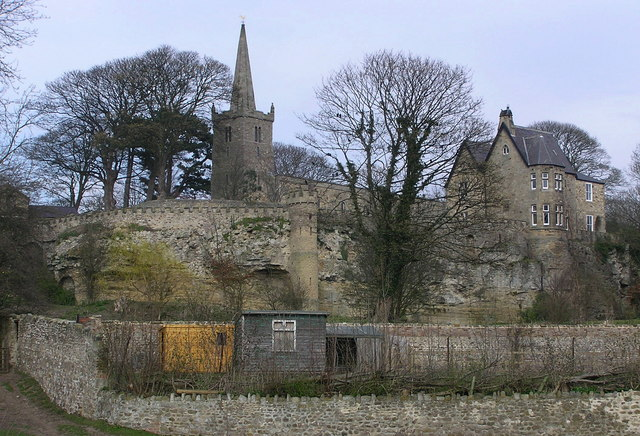 St.Edwin's Church and Vicarage.