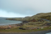 The Chaa-ans and Hollanders Grave, Shetland