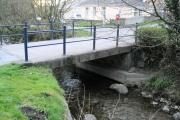 Small bridge over river Dulais
