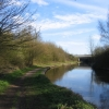 Canal diversion under the M42