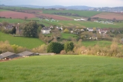 Shillingford St George from the south