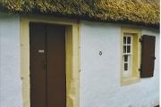 Burns Cottage Doorway.