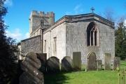 All Saints Church, Bradbourne