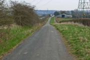 Old road behind the A688