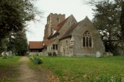 St. Peter's church, Boxted, Essex