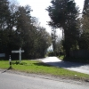 Road Junction Cowbeech East Sussex