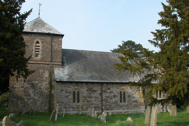 St. Andrews Church, Dinedor