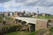 Buchanness Bridge and Boddam Village