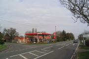 Petrol station at Stanton-on-the-Wolds