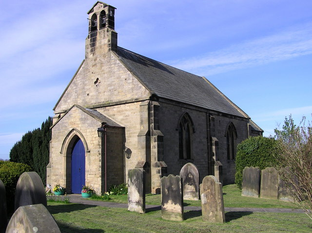 St. Peters Church, Cleasby with Stapleton.