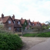 Houses just north of Whitehill Farm