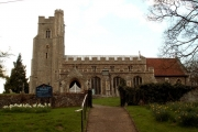 St. Mary's church, Withersfield, Suffolk