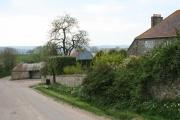 Membury: by Challenger Farm