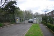 Gate to Bovington Camp