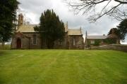 Church and Old Vicarage, Talkin, Brampton