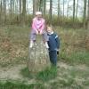 Triangulation pillar, Great Widmoor Wood
