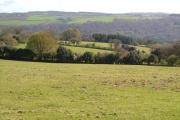 Fields near South Harton farm