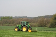 Wiveliscombe: tractor and mower