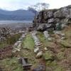 Am Ploc, Open Air Church, Fasaig Loch Torridon,Wester Ross.