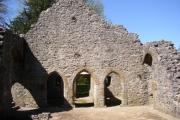 Doorways to service rooms, Old Rectory, Warton