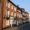Georgian houses on Bartholomew Street, Exeter