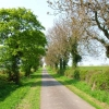 Private road to Foxton