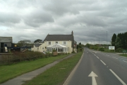 The eponymous pub at Victoria on the A30