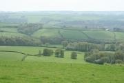 Bampton: the Batherm valley near Petton