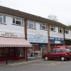Rowhill shops - butcher, baker, electrical appliance centre