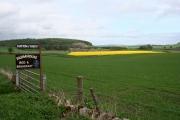 Hatton of Ogilvie roadsign