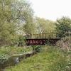 Crayford, former Vickers works railway bridge