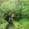Dunkeswell: church path