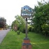 Village sign, Haynes Silver End, Beds