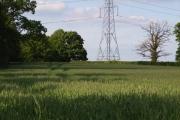 Farmland near Stratfield Turgis