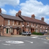 Road junction near Davenport Green