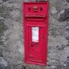 Postbox at Catacol