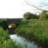 Bridge over the river Babingley, Norfolk.