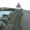 The start of the bridge between Plock of Kyle and Eilean Ban
