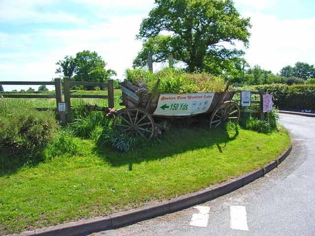 Old farm cart, Rosliston