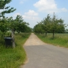 Driveway to Great Southwood Park Farm