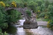 Old Bridge (remains of), Deuchar.