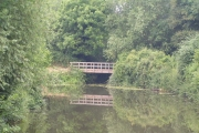 Bridge over a small tributary of the River Medway.