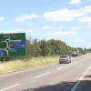 A418 crosses the M40 near Wheatley