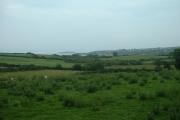 Farmland near Creigir Goch