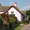 Luppitt: cottages at Beacon