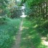 Footpath heading north east from Hazel Gap