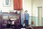 Methodist Chapel - Sweetham - interior c1980