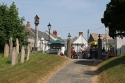 Probus Village Centre from the Churchyard